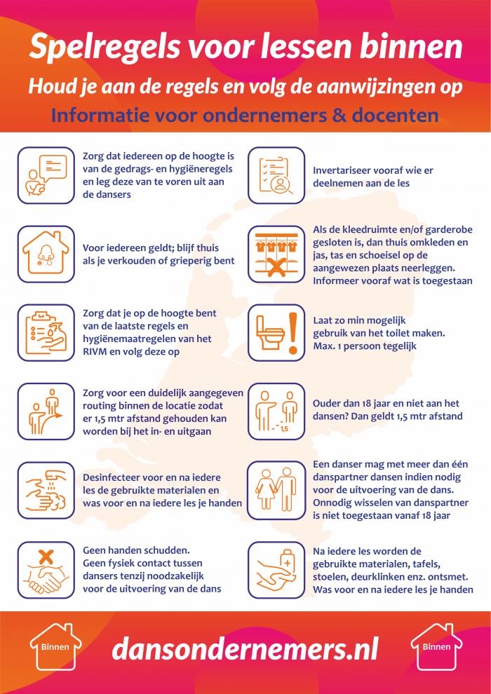 Poster voor ondernemers en docenten